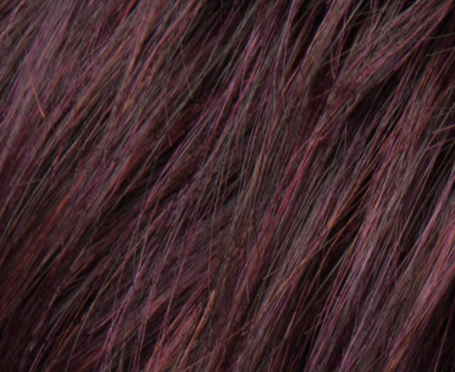 26 hair power aubergine
